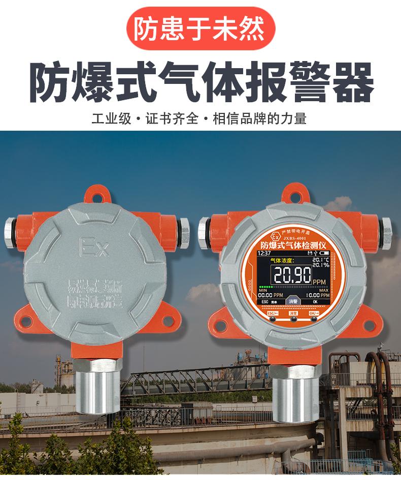 防爆式甲醛温湿度三合一传感器