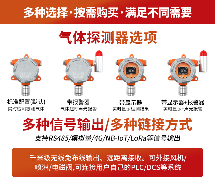 固定式H2S传感器