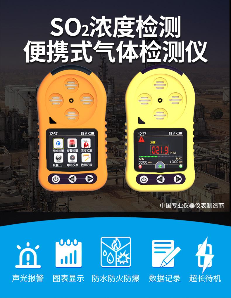 SO2气体泄漏检测仪